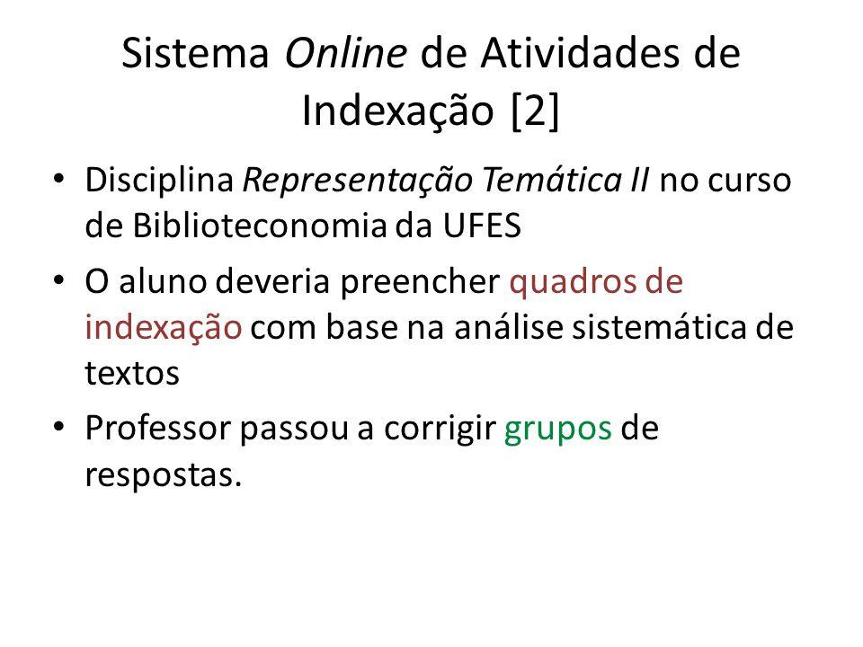 Sistema Online de Atividades de Indexação [2]